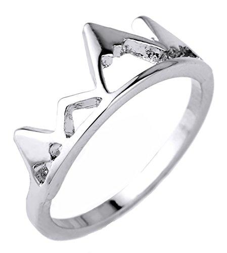 lemegeton Dainty Mountain Ring Klettern Wandern Adventure Travel Lover Ringe Outdoor Jewelry für Männer Frauen [7,8]