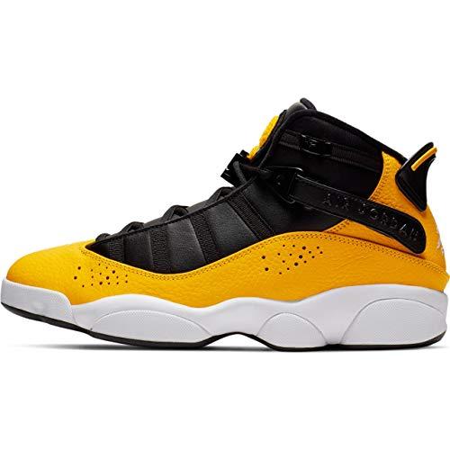 Nike Jordan 6 Rings - university gold/white-black, Größe:9.5 - Nike-jordan Vi