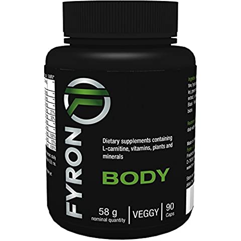 Fyron Body - 90 Capsule - Perdere peso in modo 100% Naturale - Senza additivi (Thermo Fat Burner)