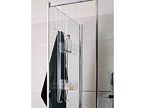 Portaoggetti doccia plexiglass angolare grandi sconti mensole