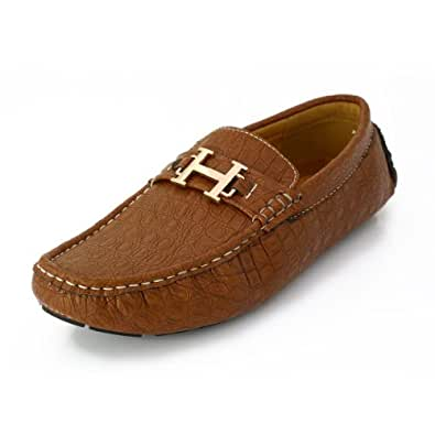 Lord's Men's Tan Pu Loafers Size 9 -2059Tan94999