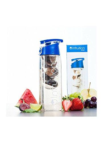 Infruition Bottiglia Sport Fruit infuso di Acqua - 700ml - Royal Blue