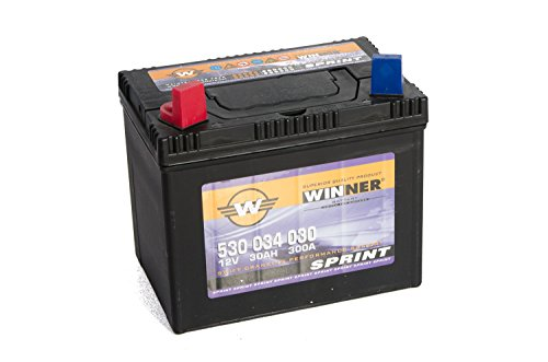 BATTERIE WINNER SPRINT 30AH 12V Links Hobby 530 034 030