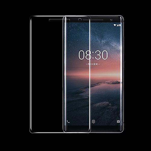 ONICO Bildschirmschutzfolie Für Nokia 8 Sirocco Folie Schutzfolie (Nicht Panzerglas),3D Selbstheilung Kompatibel mit Hülle Vollständige Abdeckung Komplette Bildschirm (Vorne HD)