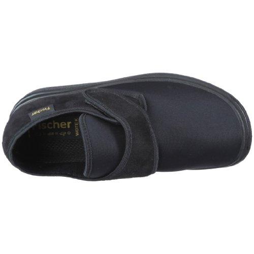 Fischer 13948 Hausschuh, Chaussures basses mixte adulte Noir-V.3