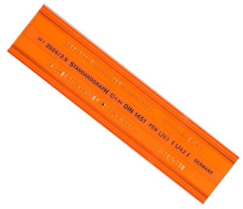 graphoplex-huellas cartas ISO 2,5mm