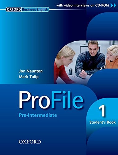ProFile 1: Pre-intermediate Student's Book by Jon Naunton (2005-02-24)