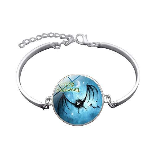te Halloween Schmuck Zeit Edelstein Armband Festival Armband Armband Herren Damen Geschenk ()
