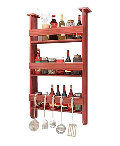 Zqword Kühlschrank Seitenwand Bügel Multifunktionale Küche Regale Zu Hause Nagel Freies Wand...