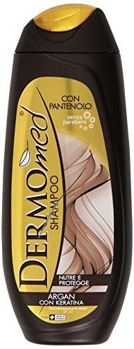 Dermomed - Shampoo, Nutre e Protegge, Argan con Keratina - 250 ml