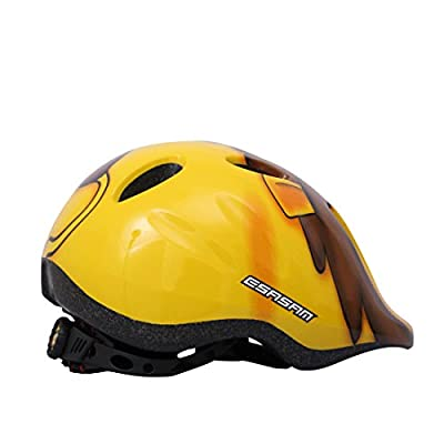 Kids Helmet, Lommer Lion Shaped Helmet Protective Adjustable Helmet Safety Helmet for Cycling, Skating, Scooting for Boys and Girls from Lommer
