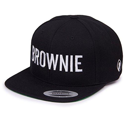 Vogelwuid Damen Cap Brownie, Größe:OneSize, Farben:Black