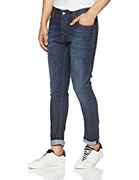 Amazon Brand - Symbol Men's Carrot Fit Stretchable Jeans