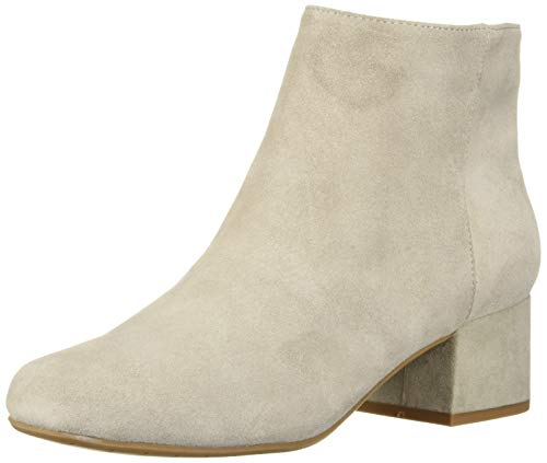 Kenneth Cole REACTION Damen Road Stop Block Heel Ankle Bootie Stiefelette, Taupe, 42 EU Kenneth Cole Reaction Step