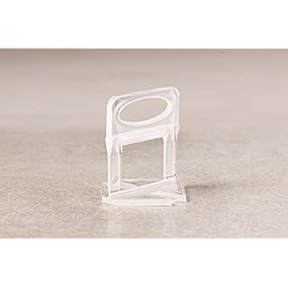 Verlegefix 4000 Laschen 2,0 mm Fliesen Nivelliersystem Kompatibel zu Planfix Verlegehilfe Verlegesys