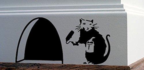 sticker-mural-en-vinyle-pour-plinthe-motif-trou-de-souris-avec-rat-de-banksy-en-train-de-peindre