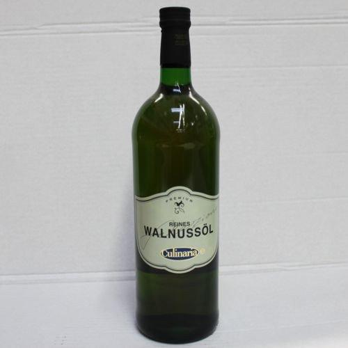 Culinaria Reines Walnussöl für Salate und Dressing (1 Liter Flasche)