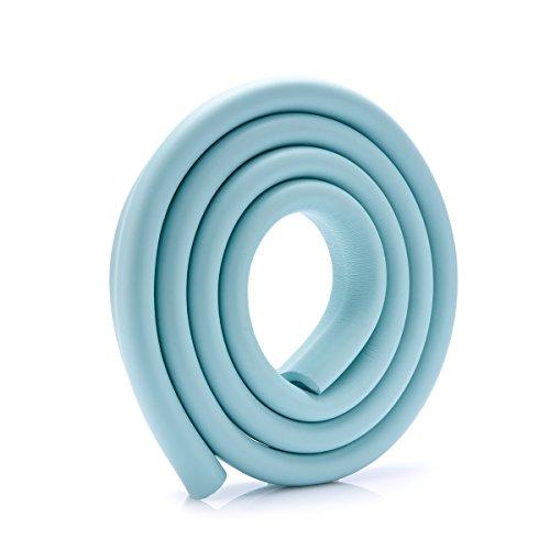 SJHO Baby Anti-Kollision U-Förmige Desktop-Schutz (6.56Ft) Thick Soft Antikollision Winkel Zum Schutz des Babys - 6 Farben Optional + Tape,Blue