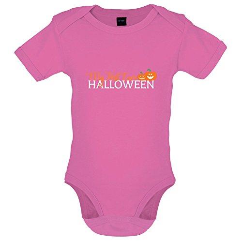 Mein erstes Halloween - Lustiger Baby-Body - Bubble-Gum-Pink - 12 bis 18 (Halloween Gum Kostüme Bubble)