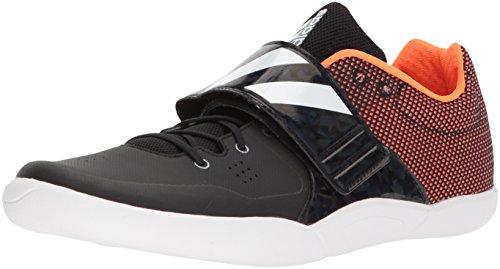 adidasadizero Discus/Hammer-U - Adizero Discus/Hammer Unisex-Erwachsene, Schwarz (Core Black, FTWR White, Orange), 43 EU M
