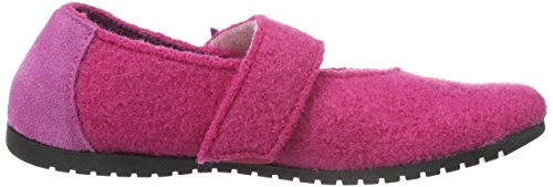 Giesswein Hagen, Chaussons fille Rose - Pink (364 himbeer)