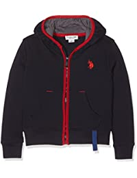 U.S.POLO ASSN. Uspa Color Hoody Flc - Suéter para niños