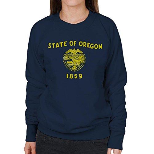 Coto7 Oregon State Flag Women's Sweatshirt