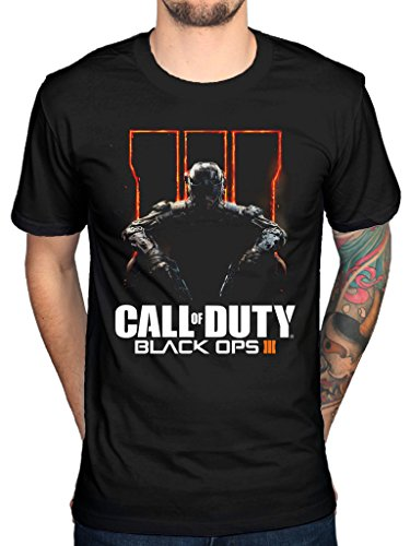 "Official Call Of Duty Black Ops """", design: Video Game Console nero medium"