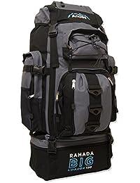 Andes Ramada 120L Extra Large Hiking Camping Backpack/Rucksack Luggage Bag