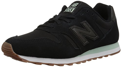 New Balance Damen Sneaker, Schwarz (Black/WL373KMS), 41 EU (7.5 UK) (New Balance Schwarz Frauen)