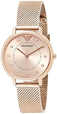Emporio Armani Ladies Wrist Watch, Pink AR11129
