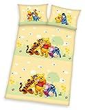 Klaus Herding GmbH Winnie The Pooh Parure de lit en Flanelle 100% Coton 40 x 60 cm +...