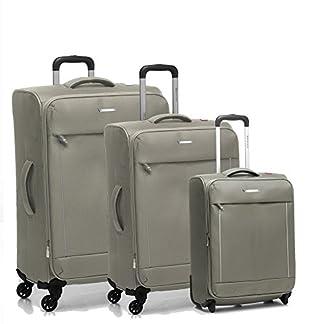 Roncato Live Juego de maletas, 103 liters, Beige