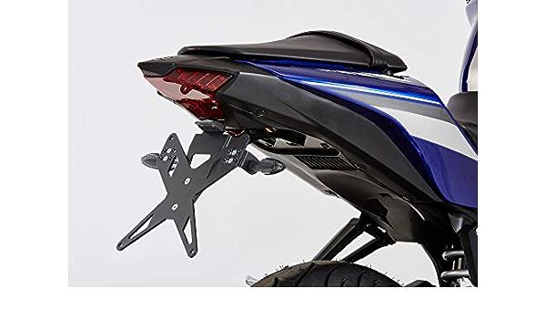 Protech X Shape Kennzeichenhalter Kompatibel Mit Yamaha Yzf R125 2017 2018 Re29 Auto