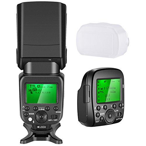 Neewer 2.4G Wireless 1 / 8000s HSS TTL GN58 Flash Speedlite Master...