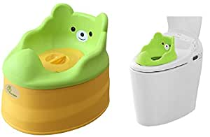 R for Rabbit Tiny Tots Adaptable Potty Training Seat (Green Yellow)