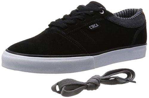 Herren Skateschuh Circa Goliath Skateschuhe black/frost gray