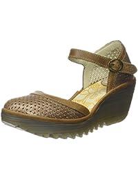 Fly London Yupi840fly, Zapatos de Tacón con Punta Cerrada para Mujer