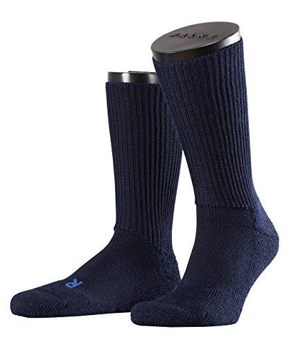 FALKE Unisex Socken Walkie Ergo - Merinowollmischung, 1 Paar, Blau (Marine 6120), Größe: 37-38