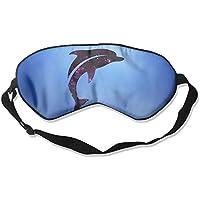 Purple Galaxy Jumping Animal Cute Dolphin 99% Eyeshade Blinders Sleeping Eye Patch Eye Mask Blindfold for Travel... preisvergleich bei billige-tabletten.eu