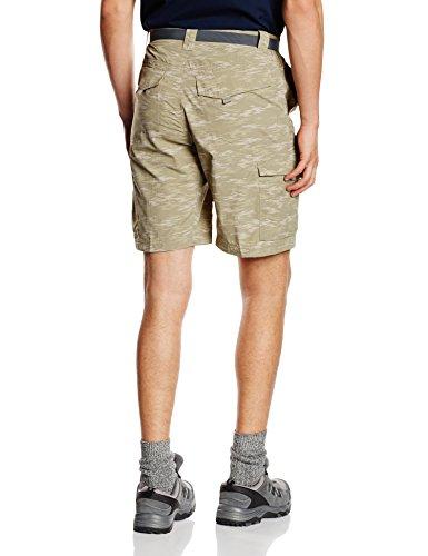 Columbia Herren Silber Ridge bedruckt Cargo Shorts Tusk Digi Camouflage/Tusk Digi Camouflage