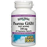 Natural Factors, Stress Relax (Stress-Entspannung), Pharma GABA, 100mg, 60 Veg. Kapseln
