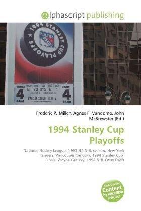 1994 Stanley Cup Playoffs
