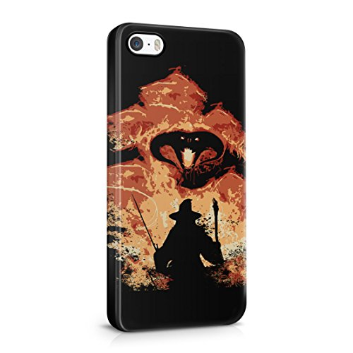 Lord Of The Rings Balrog Cs Gandalf iPhone 5 / 5S Hard Plastic Phone Case Cover