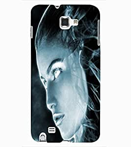 ColourCraft Scary Girl Design Back Case Cover for SAMSUNG GALAXY NOTE 1