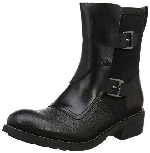 G-STAR RAW Damen Labour Buckle Biker Boots, Schwarz (Black), 39 EU (Boots Buckle)