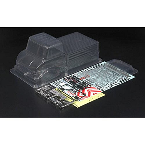 Preisvergleich Produktbild Tamiya 300051358 - Kar.-Satz CR01 MB Unimog U406 Serie 900