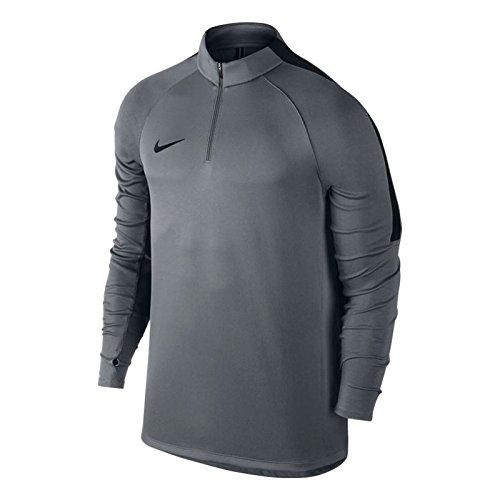 Nike M Nk Sqd Dril Top, Maglia Uomo Gris (Cool Grey / Black / Black)