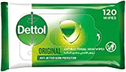 Dettol Original Anti-Bacterial Multi Use Wipes - Pack Of 120