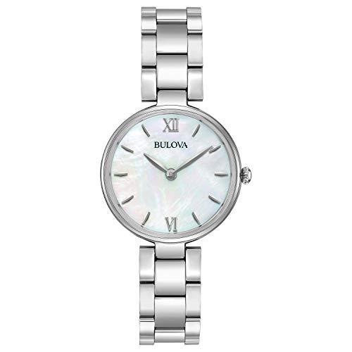 Bulova 96L229 - Reloj de pulsera Mujer, acero inoxidable, color Plata